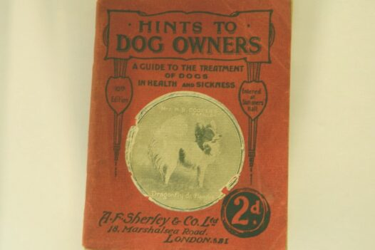 Hints to Dog Owners Booklet, 1925