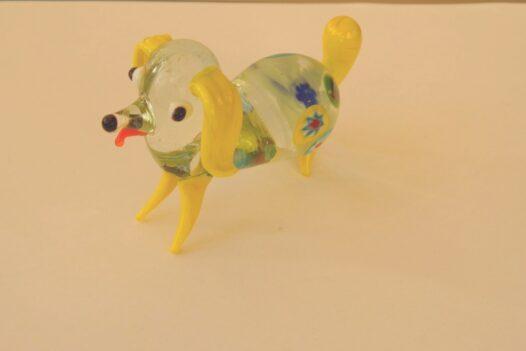 Pirelli Murano Glass Dog