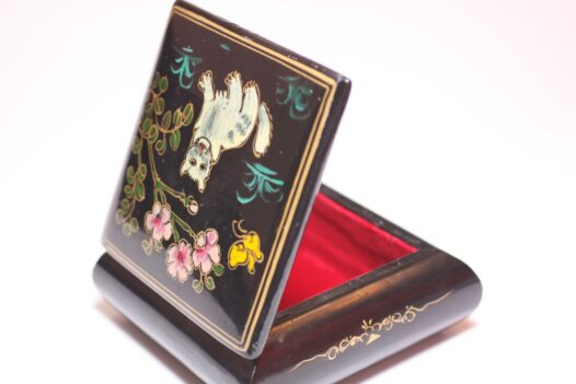 Trinket Box Hand Painted from Japan