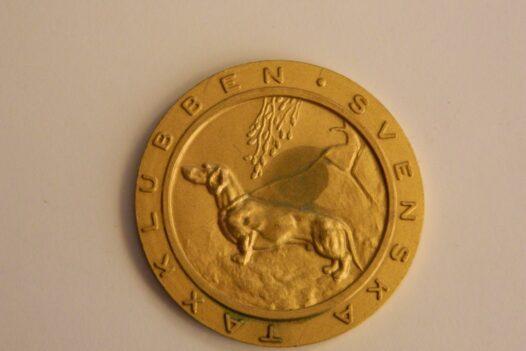 Dog Medal from Sweden