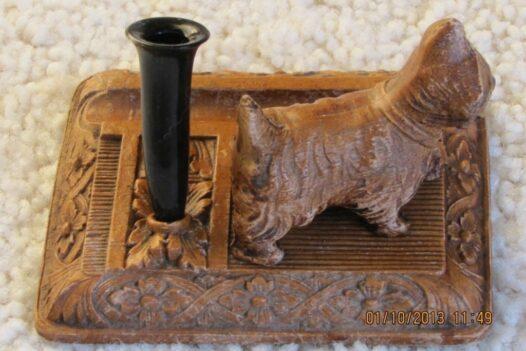 Unique 1930's Scottie dog desktop